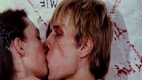 Кокетливая Brigitte Woellner снимается в сексуальной сцене фильма