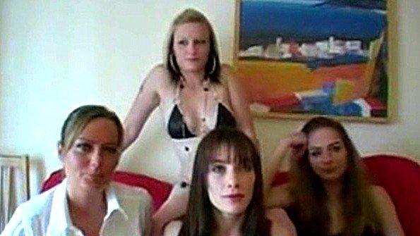 Развратная вечеринка с большим количеством траха и спермы