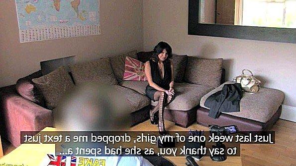 Горячая чилийская мадам жестоко ебется с порно агентом на кастинге