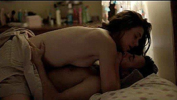 Сексуальная сцена из фильма с классическим спариванием актеров