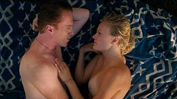 Знаменитая Malin Akerman в милой сексуальной сцене из фильма
