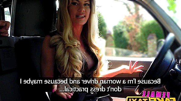 Женщина таксист не устояла перед предложением пассажира поебаться
